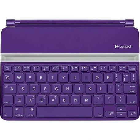 c0b3910d63f Logitech Ultrathin iPad Mini Bluetooth Keyboard Cover PURPLE