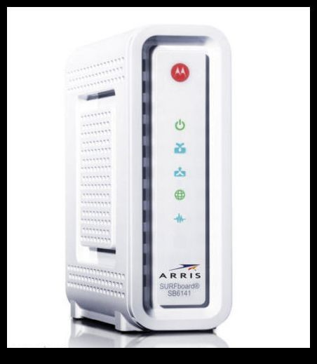 ARRIS SURFboard SB6141 DOCSIS 3 0 Cable Modem - WHITE