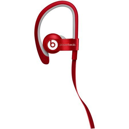 Beats Powerbeats 2 WIRED RED In Ear Headphones Beats By Dr. Dre c6a4fedd5f0c