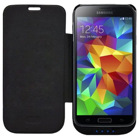 competitive price bb891 2cc3c SKIVA PowerSkin 3700mAh Battery Case for the Samsung Galaxy S5 - BLACK