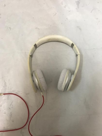Wired Beats Solo Monster Headphones White As Is