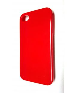 RadioShack 1710669 iPhone 4S Snap On Cell Phone Case - Red