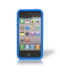 XtremeMac TuffWrap Case for iPhone 4/4S - Blue