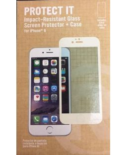 RadioShack Protect It Impact-Resistant Glass Screen Protector + Case for iPhone 6