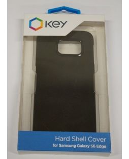 Key Hard Shell Cell Phone Case Samsung Galaxy S6 Edge - Black