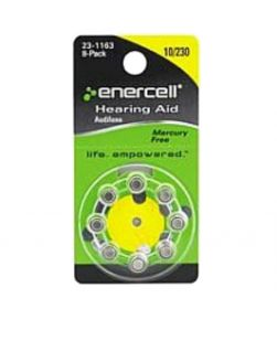 Enercell Hearing AId Size 10/230 Battery 2301163 8 Pack
