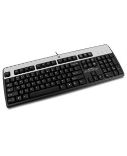 Hewlett Packard KU-0316 HP USB Wired Keyboard 104 Keys