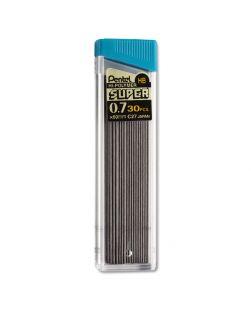 Pentel Super Hi-Polymer 0.7mm Medium Lead 30pcs - Quantity: 3