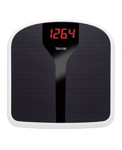 Taylor Precison Super Brite LED Scale - Black