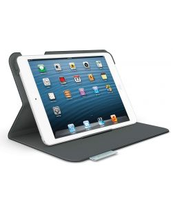 Logicool Logitech Folio Protective Case for iPad Mini - Grey