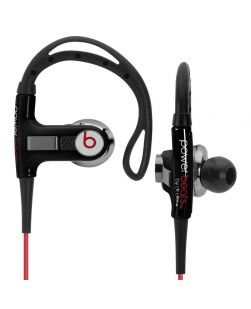 Beats By Dr. Dre Powerbeats Wired Black - Defective