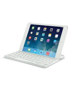 Logicool Logitech Ultrathin Magnetic Clip-On Keyboard Cover for iPad Air 2 - White