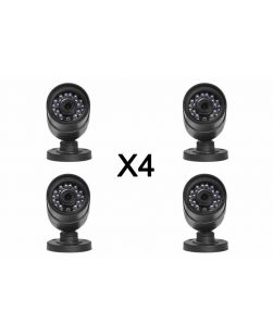 4X Uniden B672BC Wired Surveillance Cameras With BNC Cables