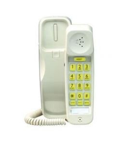 Clarity C210 Big Button Trim Phone - White