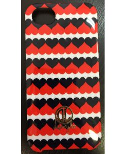 Dabney Lee iPhone 5 Cell Phone Snap Case - Red and Navy