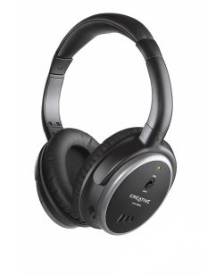 Creative HN-900 Active Noise-canceling Headphones - Black/Gray