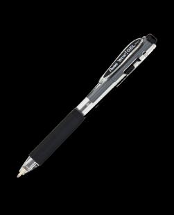 12 Pack Pentel Wow! Gel Pen Medium 0.7mm Black Ink - K437