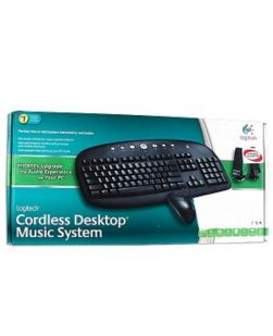 Logitech Cordless Desktop Music System