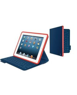 Logitech FabricSkin Keyboard Folio for iPad 2 MYSTIC BLUE