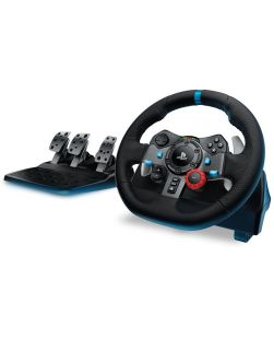 Logitech G29 Driving Force Racing Wheel and Pedals for PS3 PS4 PC MAC