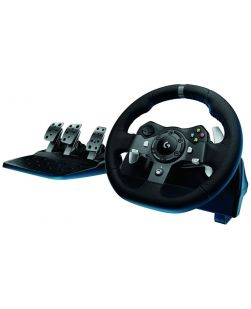 Logitech G920 Driving Force Racing Wheel and Pedals for XBOX ONE and PC