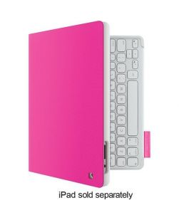 Logitech Keyboard Folio for iPad 2 3G 4G FANTASY PINK