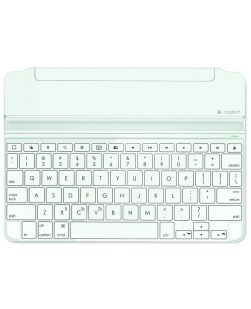 Logitech Ultrathin Magnetic Clip-on Keyboard Cover for iPad Air WHITE