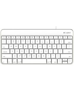Logitech Wired Keyboard 30-Pin Connector for iPad 1-2-3rd Gen