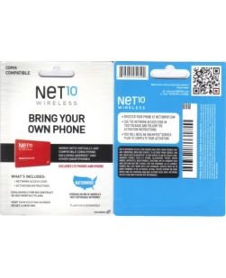 Net10 CDMA Activation Kit