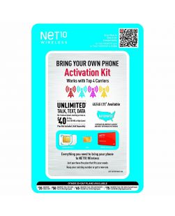 Net 10 Bring Your Own Phone Activation Kit