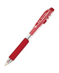 15 Pack Pentel Wow! Gel Pen Medium 0.7mm Red ink - K437