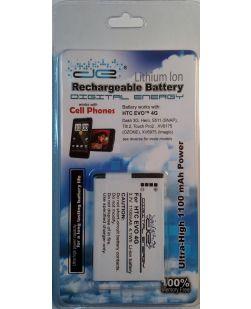 Digital Energy 230-0346  3.7V/1100mAh Li-ion Battery for HTC EVOTM 4G