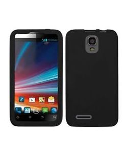 PointMobl 1709172 Snap-On Case for ZTE Engage LT - BLACK