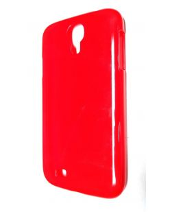 RadioShack 1710672 Samsung Galaxy S4 Snap On Cell Phone Case - Red