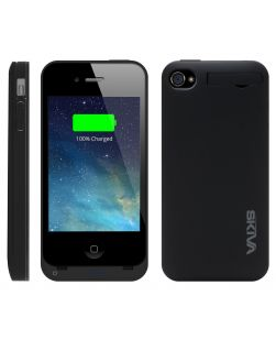 Skiva PowerSkin A4 for iPhone 4/4S Ultra thin Lightweight Battery Case