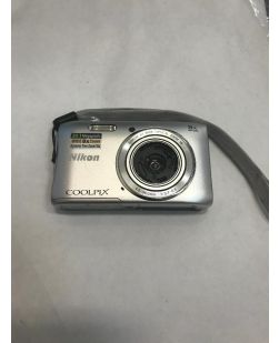 Nikon Coolpix S3600 Digital Camera Silver - AS-IS