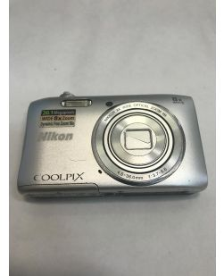 Nikon Coolpix S3600 Silver Digital Camera - ASIS