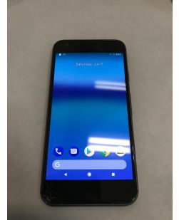 Google Pixel 32GB 2PW4100 Black Smartphone - Cracked Screen