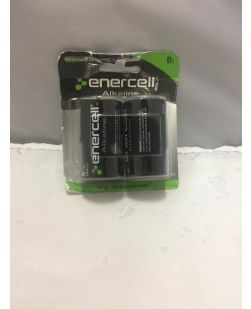 Enercell 230-0852 LR20 D Batteries
