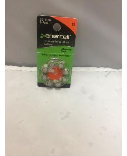 Enercell Hearing Aid 13 Battery 2301166 8 Pack (EXP 2014-16)