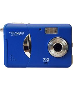 VistaQuest VQ7220 7MP Blue Point & Shoot Digital Camera